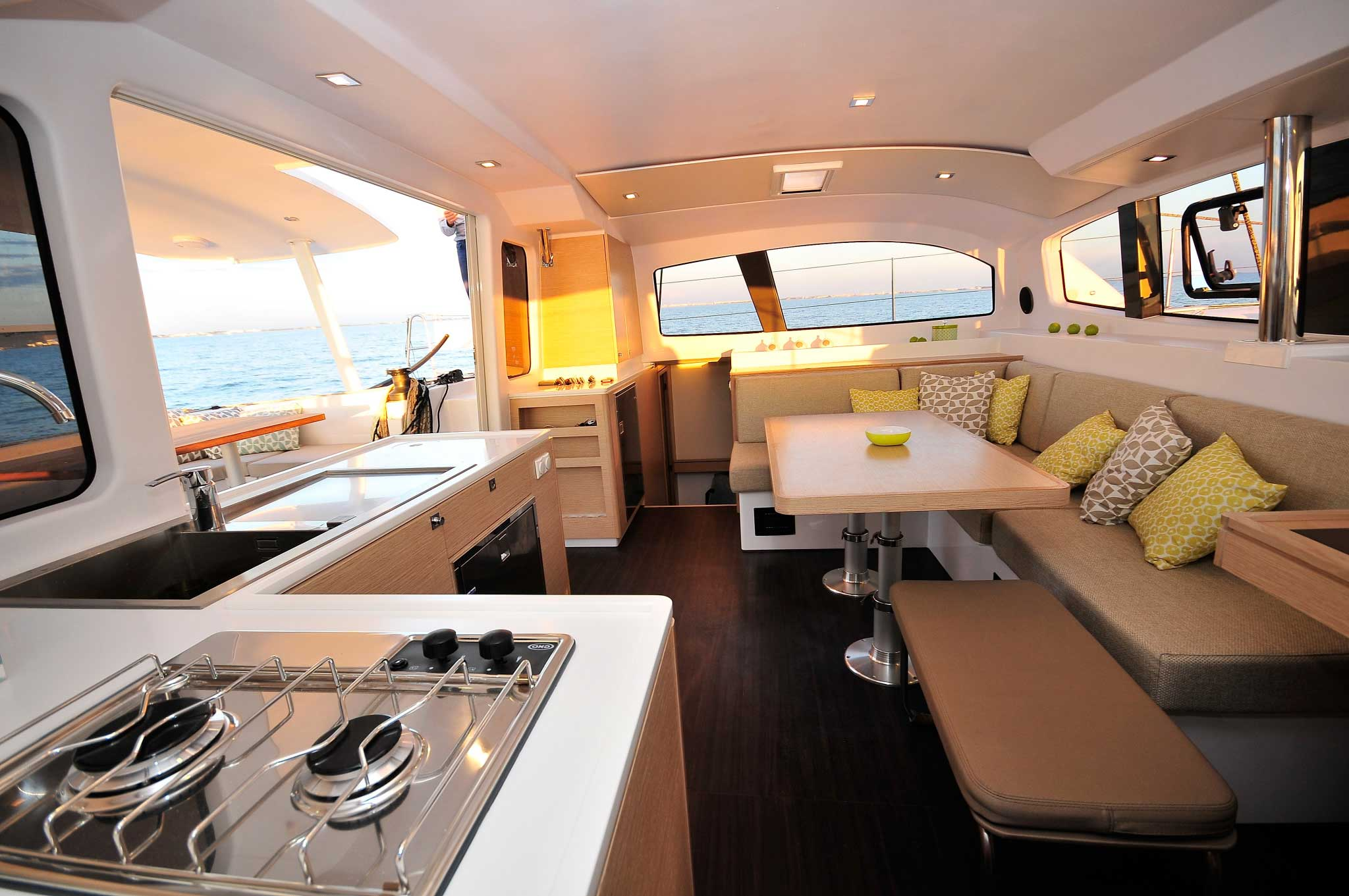 Interior: Outremer 45 For Sale