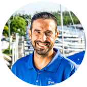 Rafael Escobar - Just Catamarans Service Manager