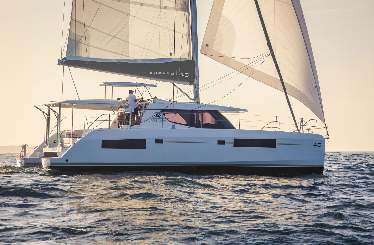 Leopard 45 Catamaran Hull #1