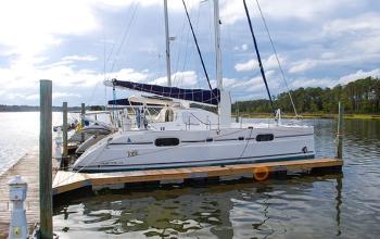 2002 Catana 431 Catamaran TONIC Sold by Just Catamarans