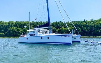 2008 Moxie M37 Catamaran SHENANIGANS sold