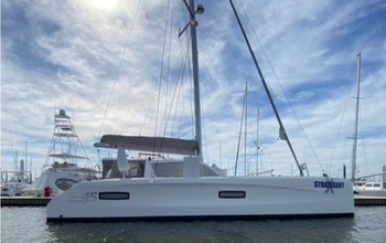 2014 Outremer 45 Catamaran sold by Just Catamarans