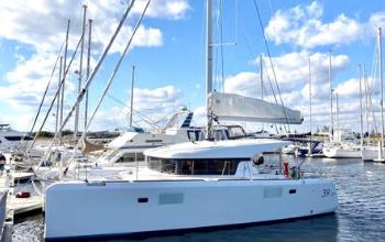 2014 Lagoon 39 Catamaran MARDI GRAS Sold by Just Catamarans