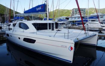 2015 Leopard 44 Catamaran LET IT GO sold by Jim Ross