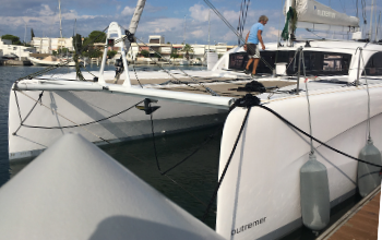 2019 Outremer 45 Catamaran sold IMA by Just Catamarans