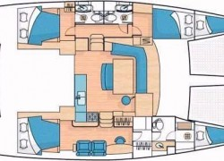 AINULINDALE_2007_Lagoon 440_Catamaran for sale_Just Catamarans_just cats_layout