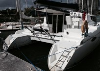 COOL CAT_Fountaine Pjot_Mahe 36_catamarans for sale_Just catamarans_just cats_aft