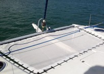COOL CAT_Fountaine Pjot_Mahe 36_catamarans for sale_Just catamarans_just cats_trampoline