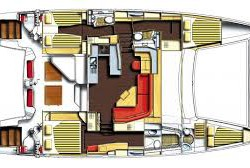 Catana 50 Layout