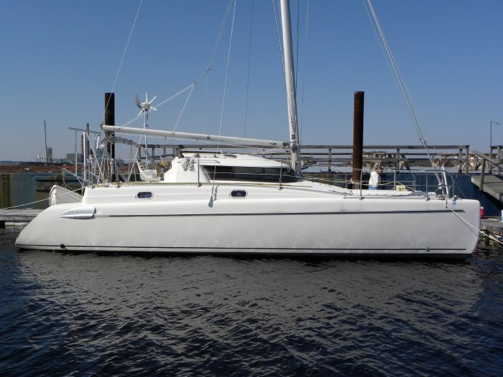Fountaine Pajot catamaran CAT ALEE