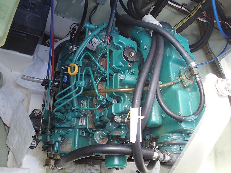 Leopard Catamaran Engine