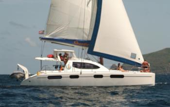 2007 Leopard 46 Catamaran SHANTIES sold by Just Catamarans