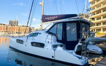 2018 Maverick Yachts 440 Catamaran LANI sold by Terry Grimbeek