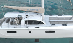 World Premiere at Multihull Show