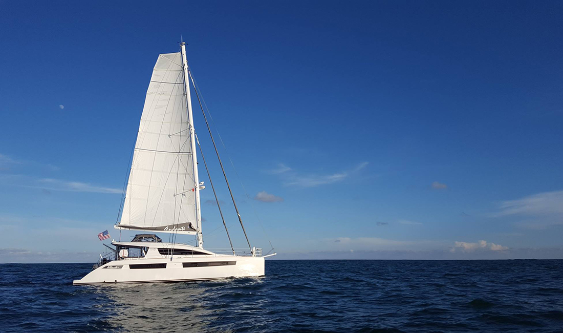 ANDANTE Privilege Catamaran for sale with Just Catamarans