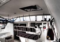 Admiral 40 Catamaran helm
