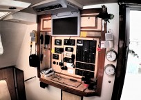 Admiral 40 Catamaran Nav Station
