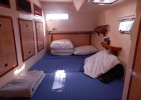 Admiral Executive 40 catamaran cabin