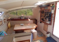 Admiral Executive 40 catamaran for sale galley