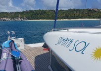 Lagoon 420 Catamaran Lettering