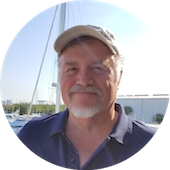 Just Catamarans broker Larry Shaffer