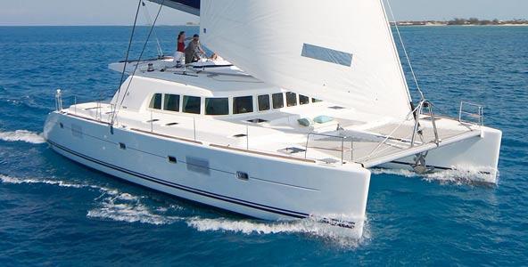 Lagoon 500 catamaran