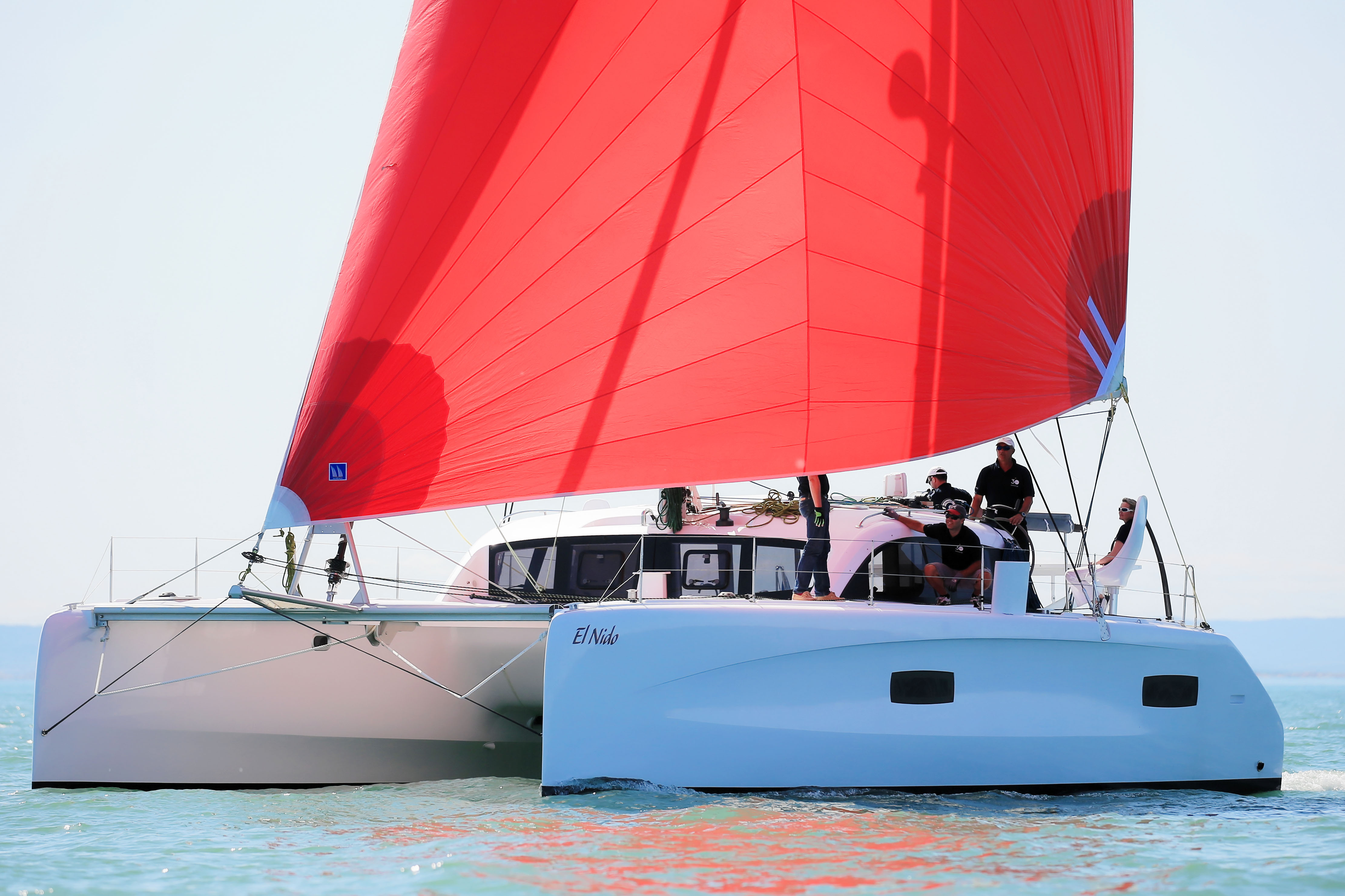 Outremer Catamarans with Daggerboards