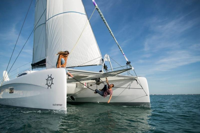 Sailing La Vagabonde with Just Catamarans