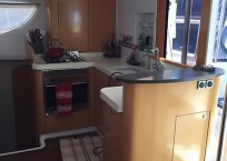 Fountaine Pajot Orana 44 galley