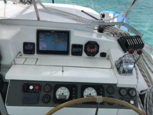 Leopard 40 catamaran electronics