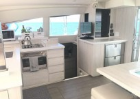 Leopard 40 catamaran interior