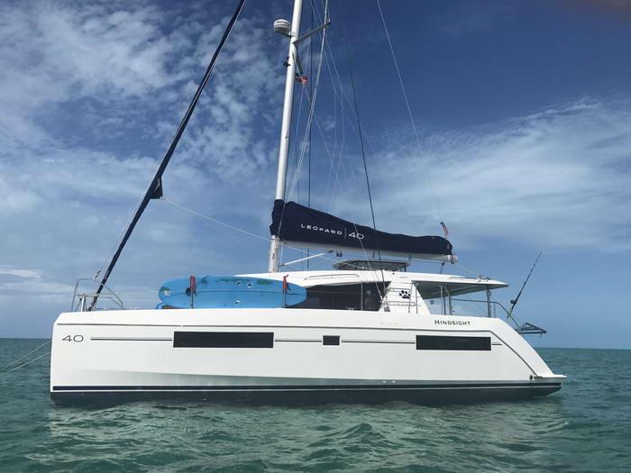Leopard 40 Catamaran Owners Version | HINDSIGHT | Just ...