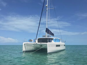 Leopard 40 catamaran profile