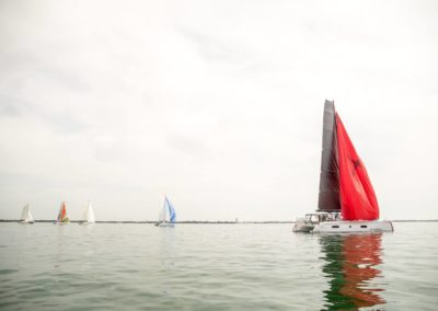 Outremer Cup 2018 excalibur and other boats