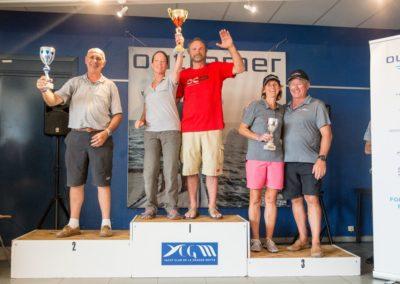 Outremer Cup 2018 regatta winners