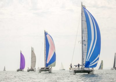 Outremer Cup 2018 windward wind