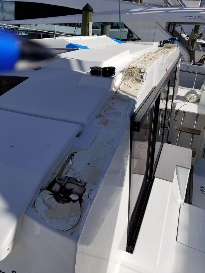 Fountaine Pajot repairs
