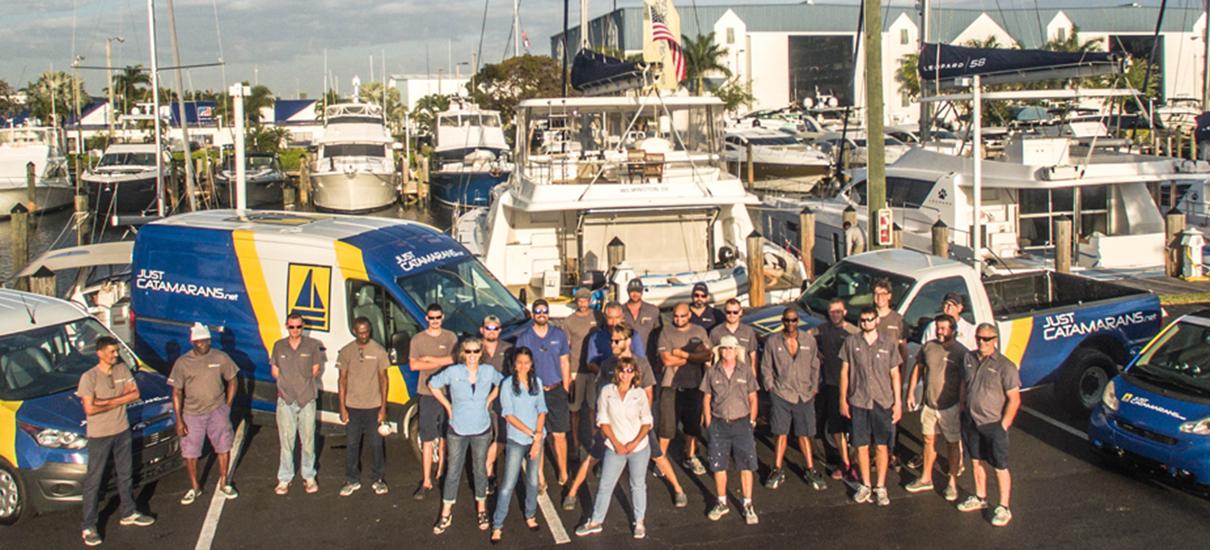 Catamaran Service and Repair | JUST CATAMARANS