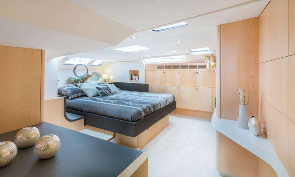 privilege catamaran owners cabin