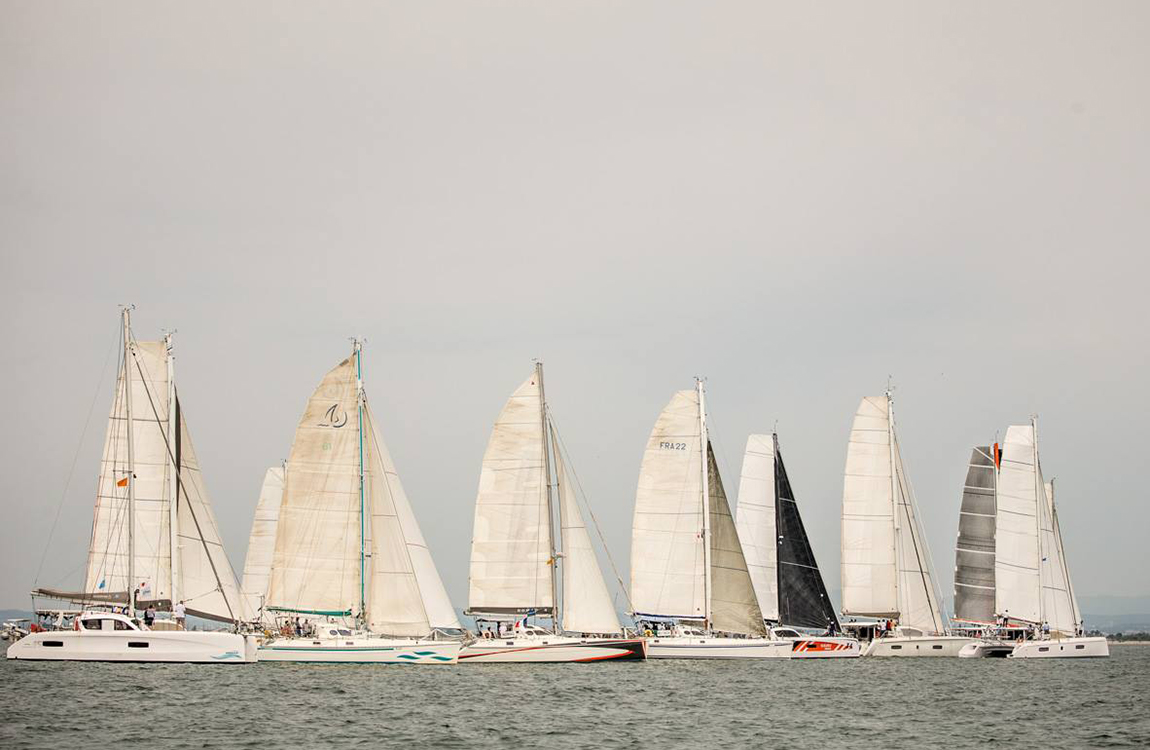 catamarans regatta