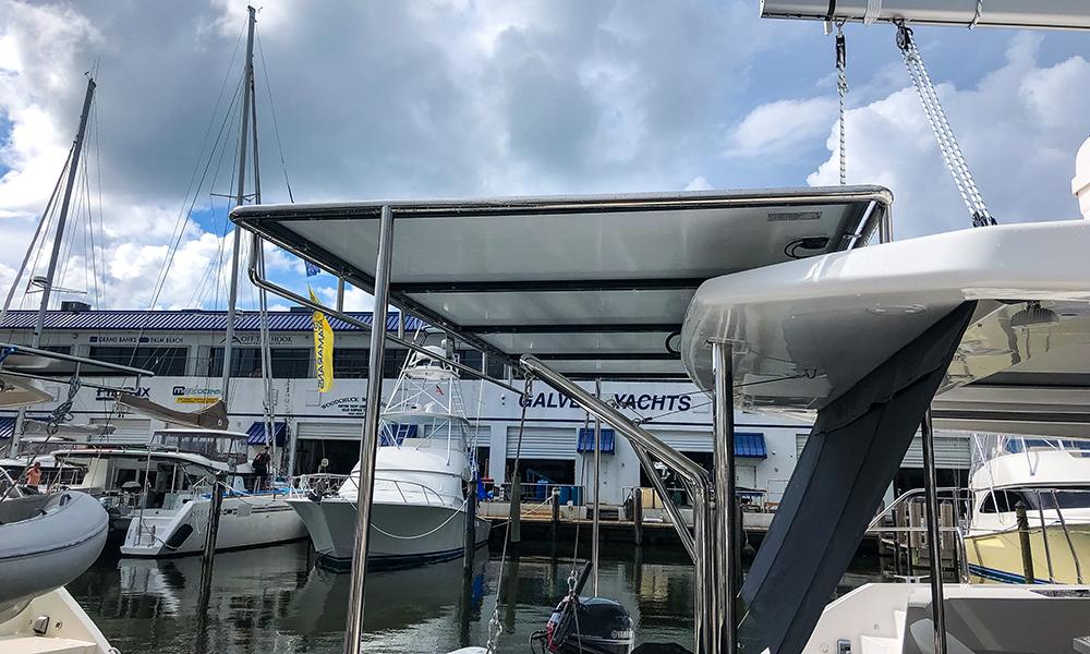 Leopard-45-solar-panel - Just Catamarans