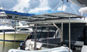 Leopard-45-stainless-steel-solar-panels - Just Catamarans