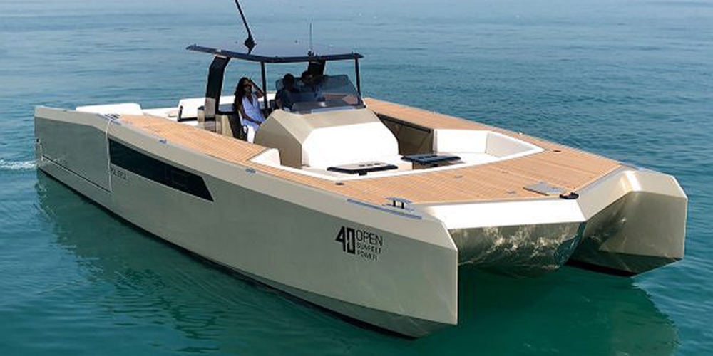 40 Sunreef Power Catamaran