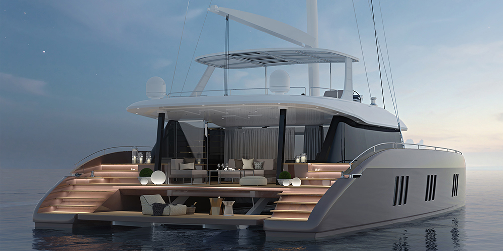60' Sunreef Sail Catamaran
