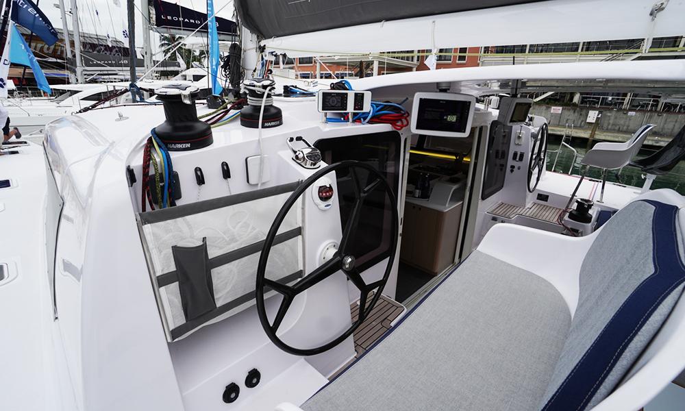 WABI SABI Outremer Catamaran