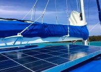 lagoon 37 solar panel