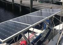 Lagoon 380 Catamaran solar panels