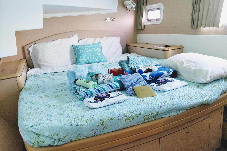 Lagoon 500 Catamaran Cabin