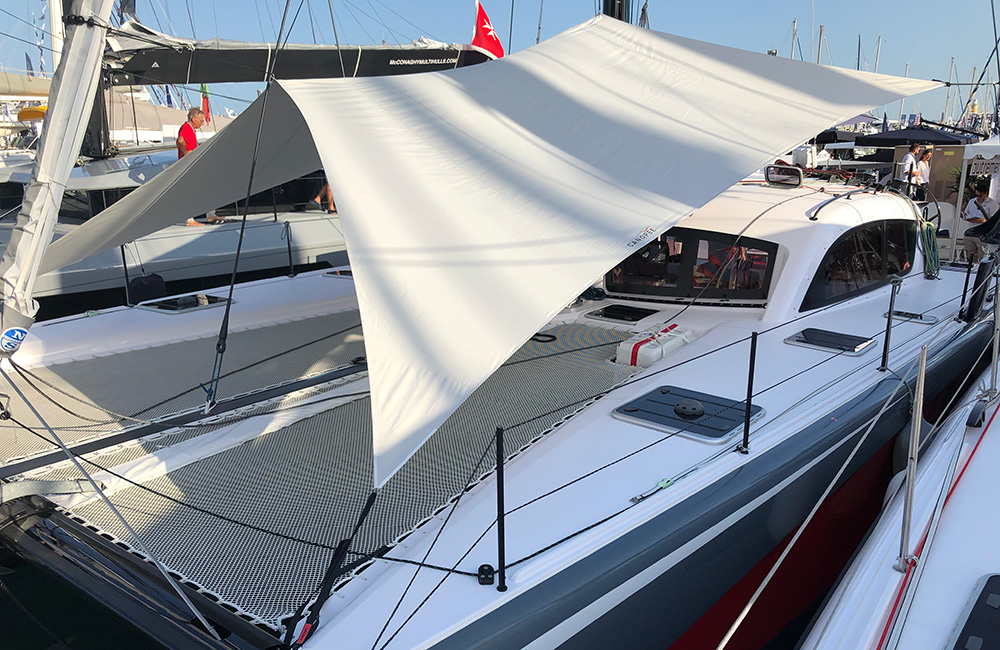 Outremer 4X with CANOPEE