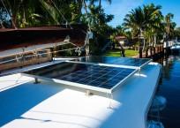 Lagoon Catamaran solar panels
